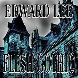 Flesh Gothic audiobook cover art