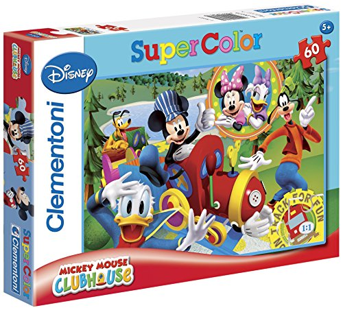 Clementoni 26573.2 Mickey Mouse Club House: On Track for Fun