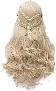 Daenerys Targaryen Wig for Game of Thrones Khaleesi Long Curly Wavy Hair Wigs