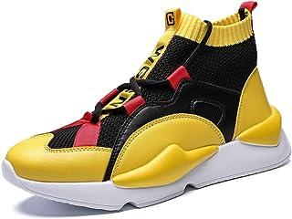 TAZAN basketbalschoenen voor mannen hoge hulp sneakers outdoor sport-walking-schoenen kant leer ademend herfst gymschoenen...