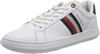 Tommy Hilfiger Homme Essential Leather Cupsole Sneakers basses, Homme
