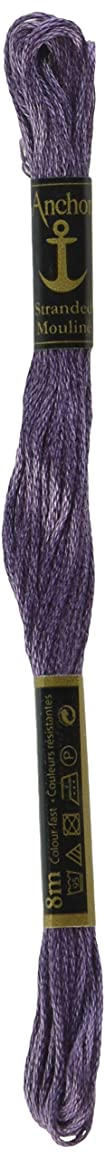Anchor Six Strand Embroidery Floss 8.75 Yards-Amethyst Medium 12 per box