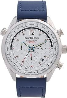 Krug-Baumen 100220DM Mens Air Explorer Limited Edition Diamond Watch