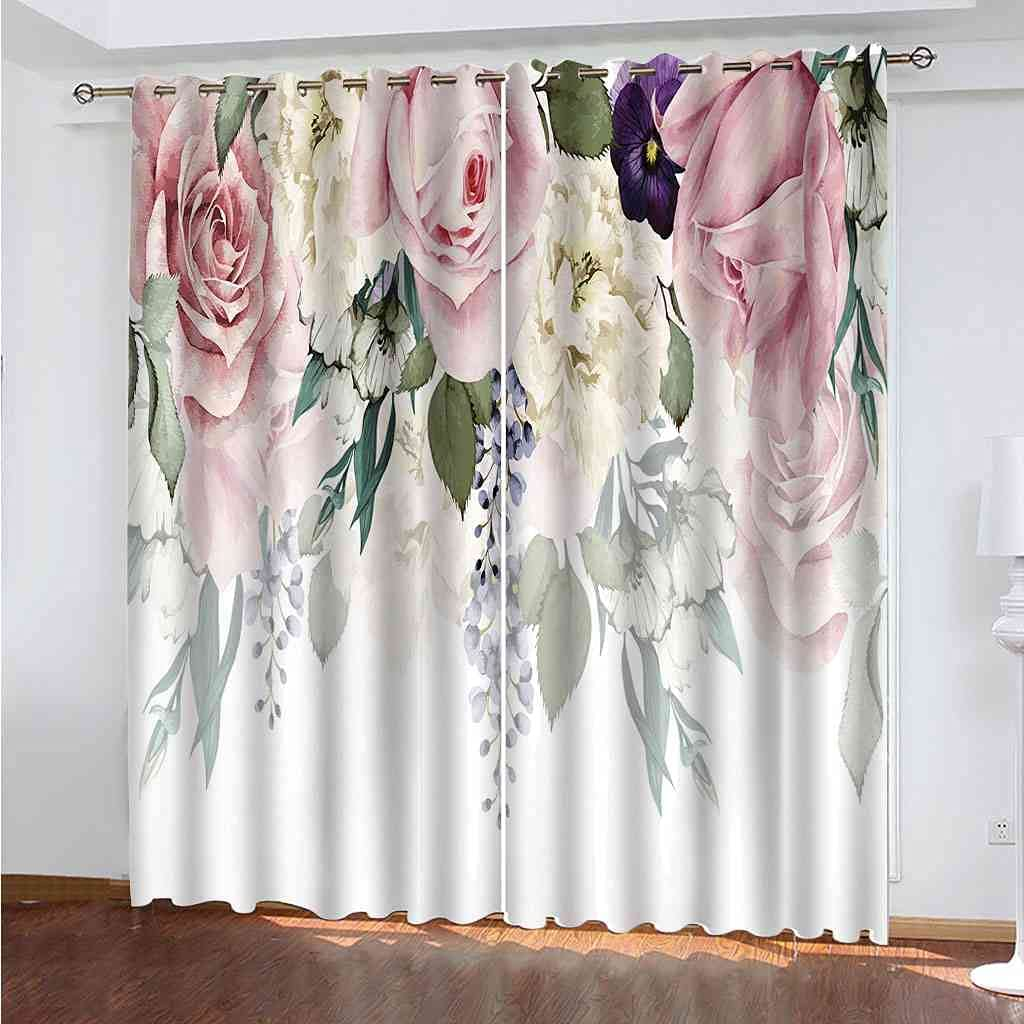 DSVNNZ Printed Blackout Ranking TOP2 Curtains for Max 73% OFF Bedroom Kids Living Ro Room