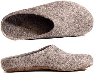 Damen Hauschuhe Schafwolle,Haus Pantoffeln Slipper Merino 100 /% Gr.40