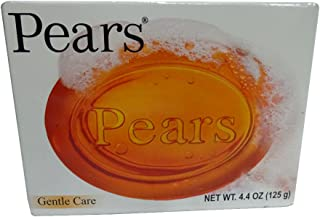 Pears Soap Gentle Care Transparent 4.4 oz (Pack of 4)