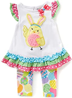 Baby Girl First Easter Chick Outfit (3m-24m)