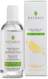 Nature's Acqua Micellare Viso e Occhi Strucca, tonifica e idrata 200 ml