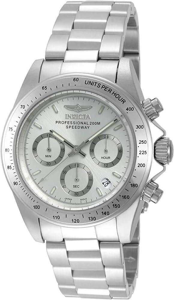 Invicta speedway orologio da uomo in acciaio inossidabile 14381