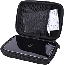 Aenllosi Hard Carrying Case for Fits Lifeprint 3x4.5 Portable Photo and Video Printer fits Zink Film Paper Pack (3x4.5, Black)
