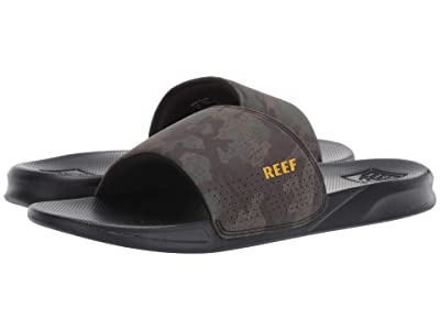 Reef One Slide (Green Camo) Men