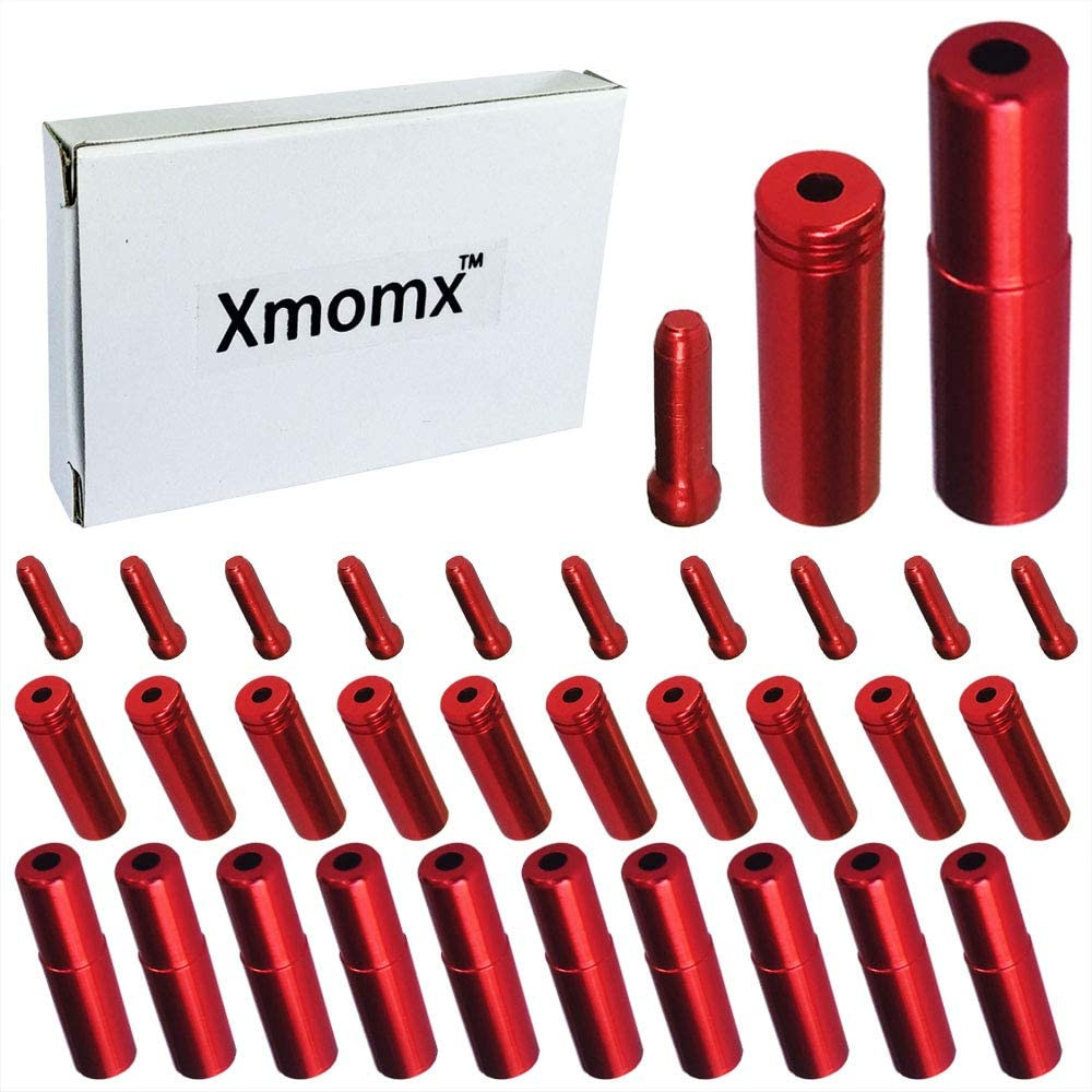 Xmomx Total 30 PCS 10 PCs Direct stock discount 5mm Road New sales Bicycle Mountain Red Alloy B