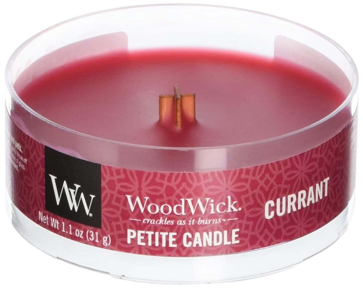 枯れる美徳二Wood Wick ウッドウィック プチキャンドル カラント