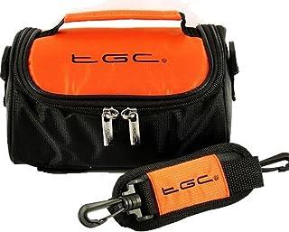 TGC ® draagtas schoudertas compatibel met Pentax K10D SLR camera