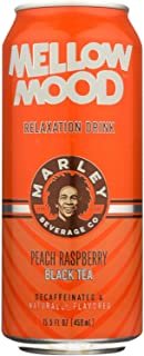 Marley's Mellow Mood Peach Raspberry Black Tea - Case of 12 - 15.5 Fl oz.