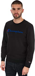 405dbd85d Eligible for FREE Delivery. Champion Mens Washed Crew Neck Sweatshirts in  Navy/Black/Grey