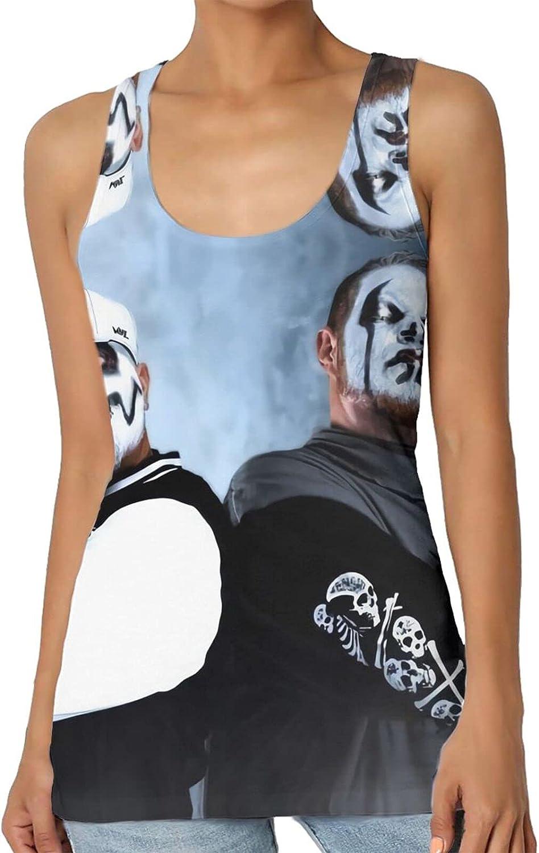 Tw-iztid Women's Summer top Sleeveless Round Neck Fashion Vest Ladies 3D Printing