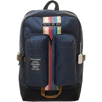 Tardis Double Pocket Backpack Doctor Who Standard