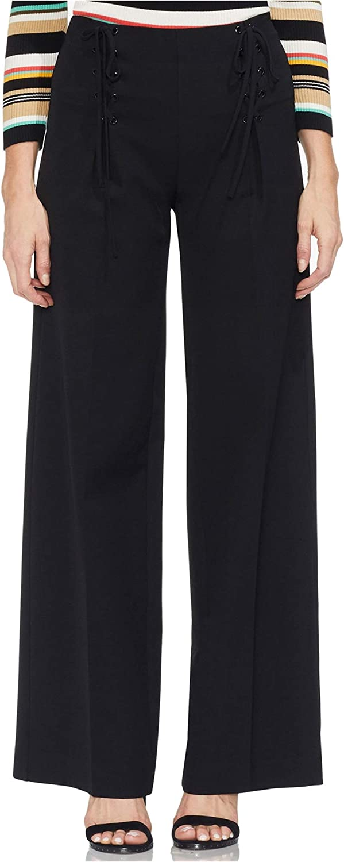 Vince Camuto Womens Sailor Casual Trouser Pants, Black, 0