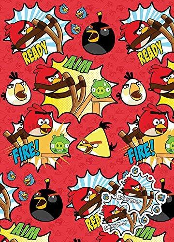 Papel de regalo Angry-Birds