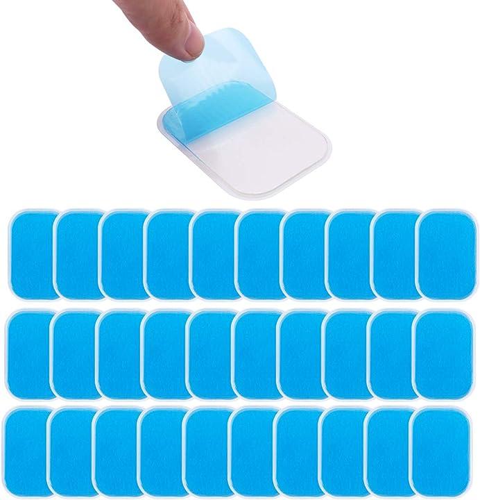 Elettrodi pad di gel per elettrostimolatore muscolare - ricambi - c100ae 60 pcs ems JP-EMS-11