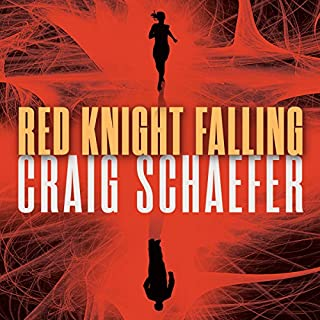 Red Knight Falling audiobook cover art