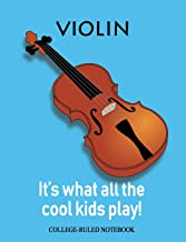 Violin: It's What All the Cool Kids Play! (InstruMentals Notebooks)
