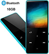 $25 » MP3 Player, 16GB MP3 Music Player with Bluetooth, Ultra Slim HiFi Lossless Sound Music Player with FM Radio, Voice Recorder, E-Book, Support up to 128GB