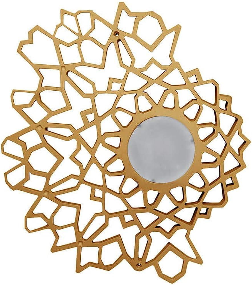 Karman notredame led, lampada da parete/soffitto,in tecnopolimero  dimmerabile color  oro PL1304O INT