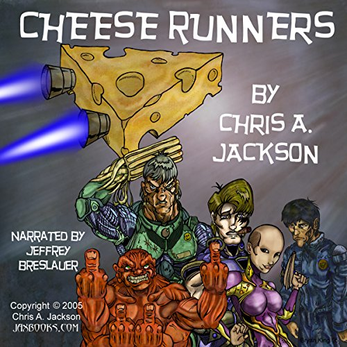 Cheese Runners audiobook cover art
