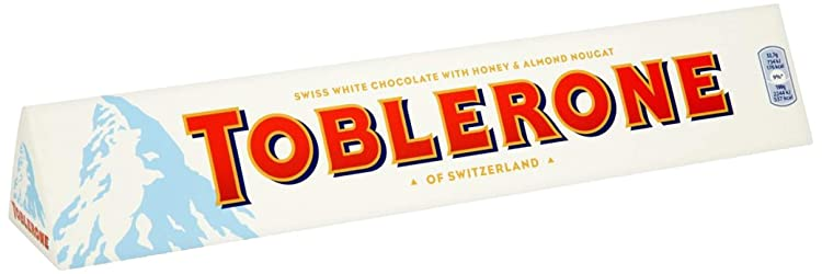 Toblerone White Chocolate Bar, 360g
