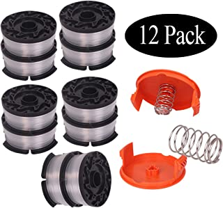 Newjinda[12 Pack]Line String Trimmer Replacement Spool, 30ft 0.065