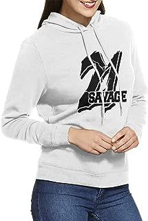 21 Savage Logo Slaughter Gang I Feel Like Pablo Hoodie Womens Hooded Sweatshirt Adult