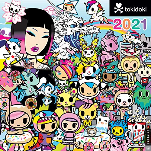tokidoki 2021 Wall Calendarの詳細を見る