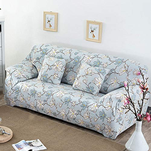 CC.Stars Funda para sofá Antideslizante para,Funda elástica para Asiento de sofá, Funda Protectora Lavable para sofá Funda decorativa-G274688_90-140cm