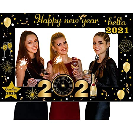 Nouvelle Année Photo Booth Prop Nye Selfie Cadre