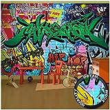 GREAT ART Fotomurale per Camera dei bambini – Graffiti Arte di Strada – Decorazione Mu...