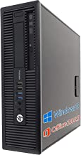 【Amazon.co.jp 限定】HP デスクトップPC 600G1/MS Office 2019/Win 10/Core i7-4770/HDMI/WIFI/DVD-RW/8GB/ (整備済み品) (SSD 512GB)
