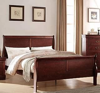 ACME Furniture Louis Philippe 23750Q Queen Bed, Cherry