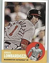 2012 Topps Heritage #451 Steve Lombardozzi NM-MT SP Washington Nationals Official MLB Baseball Card