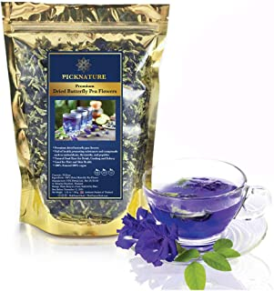 Picknature - Premium Dried Butterfly Pea Flowers Tea (3.55 oz.) 1 pack