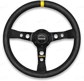 Momo R1905/35S Steering Wheel (MOD 07 Black Suede)
