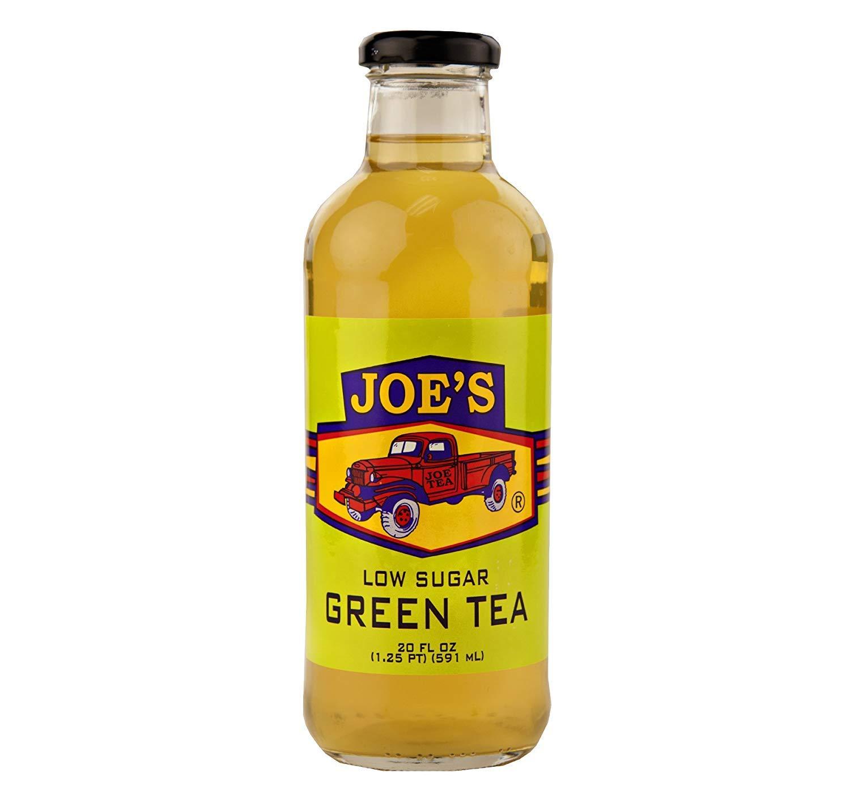 Joe Tea Low Sugar Ranking TOP7 Green Bottles Sacramento Mall oz. 20 12
