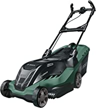 BOSCH 06008B9375 Lawnmower AdvancedRotak 750 (1700 Watts, Cutting Width: 44 cm, Lawns up to 750 m², in Carton Packaging)