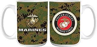 U.S. Marine Corps digital camo coffee mug 15 oz.