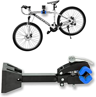 Clothink Bike Repair Stand Foldable Bicycle Wall Mount Rack Workstand, Bicycle Mechanic...
