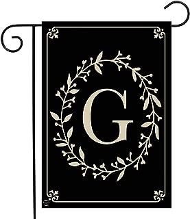 Briarwood Lane Classic Monogram Letter G Garden Flag Everyday 12.5
