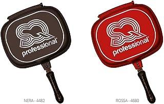 SQ Professional NEA - Sartén de Doble Cara (32 cm), Color Negro
