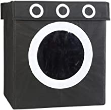 My Gift Booth Non-Woven Laundry Box, Black