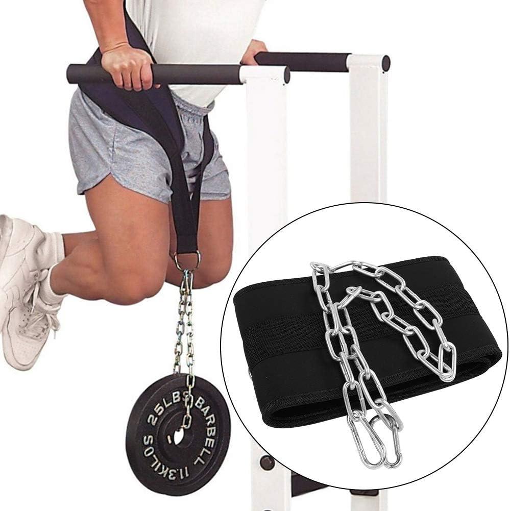Niunion Gewichtheberg/ürtel Schwarz Professional Gewichtsg/ürtel Gym Pull-Ups Tape Kommerzielle Fitness Bodybuilding-Ausr/üstung Schwarz